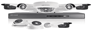 HIKVision Closed Circuit Surveillance Cameras