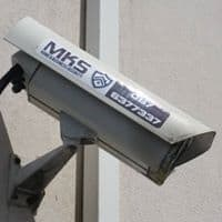 MKS Security Camera with Branding